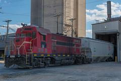ex-FCEN 56 / Waynesboro, Mississippi (Donovan J. Reed) Tags: mississippi train fcen floridacentralrailroad emd cf7