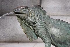 Parque del Buen Retiro (richardr) Tags: parquedelbuenretiro sculpture elretiro lizard metal fountain parque park water madrid spain espaa europe castile european history heritage historic old