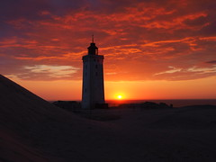 Burning Clouds at Rubjerg Knude; Denmark (FEder Photography) Tags: burningclouds rubjergknude denmark sunset northsea lighthouse