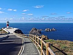 Cabo Ortegal, Cariño (A Coruña) (Miguelanxo57) Tags: faro lighthouse paisaje landscape mar sea cabo ortegal cariño acoruña coruna galicia viewpoint pintoresco