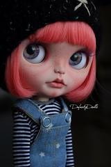 Kel (Isa Mira) Tags: prima dolly rbl blythe doll ooak custom cute takara tomi licca body dafnery dafnerydolls pink hair commission