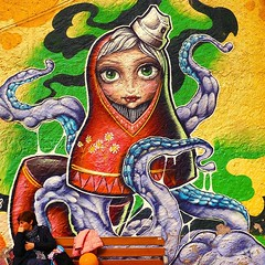 FatCap. (annaeme) Tags: graffiti fatcap streetart sabadell spraypaint matrioska