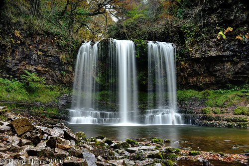 Sgwd yr Eira, Ystradfelta, Brecon Beacons National Park, Wales, UK.