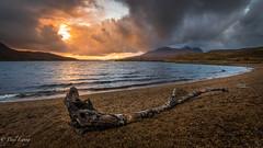 Washed Up (Paul S Ewing) Tags: scotland unitedkingdom gb loch lochassynt sunset beach sky