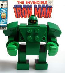 Titanium Man (soulfilcher) Tags: lego marvel titanium iron man comics