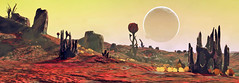 NMS Panorama 19 (brentflynn76) Tags: view vista panoramic nomanssky screenshot ps4 game videogame landscape panorama nms