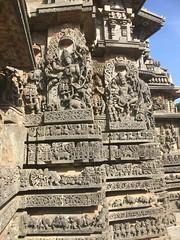 Temple walls 10 (kaushal.pics) Tags: helbedu hoysala