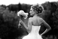 Kira & blowball (Duettel) Tags: blackandwhite monochrome wedding weddinginspiration bride bridal mywed bridetobe weddingdress weddingday weddingphotographer weddingphotography weddingphoto beautiful awesome dandelion blowball