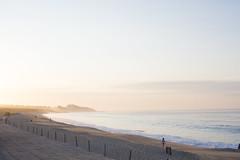(S.askins15) Tags: beach mexico sand baja cabo fence sunlight light morning early highlights highlight ocean waves walk
