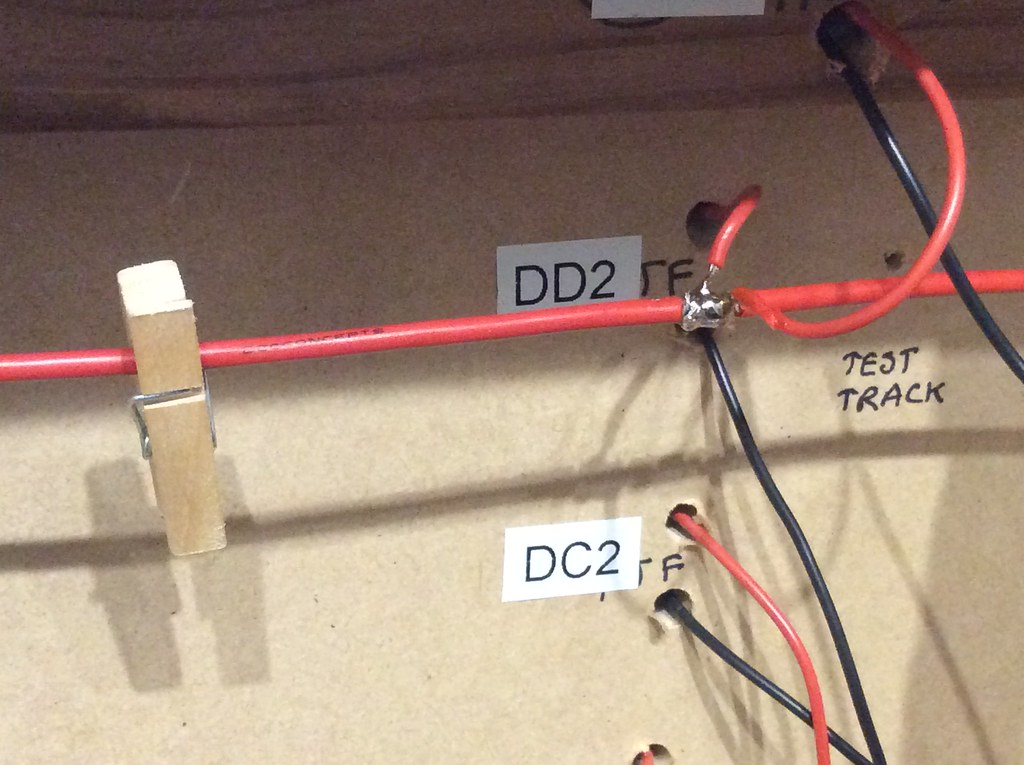 n scale dcc bus wiring dcc track bus wiring