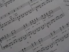 Marmor Stein und Eisen bricht ... (Bea tedo) Tags: lied liedtext noten