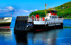 Scotland West Highlands Loch Ranza paddle steamer Waverley and car ferry Loch Tarbert 29 May 2016 by Anne MacKay (Anne MacKay images of interest & wonder) Tags: scotland west highlands loch ranza paddle steamer waverley caledonian macbrayne car ferry tarbert passenger ship xs1 29 may 2016 picture by anne mackay