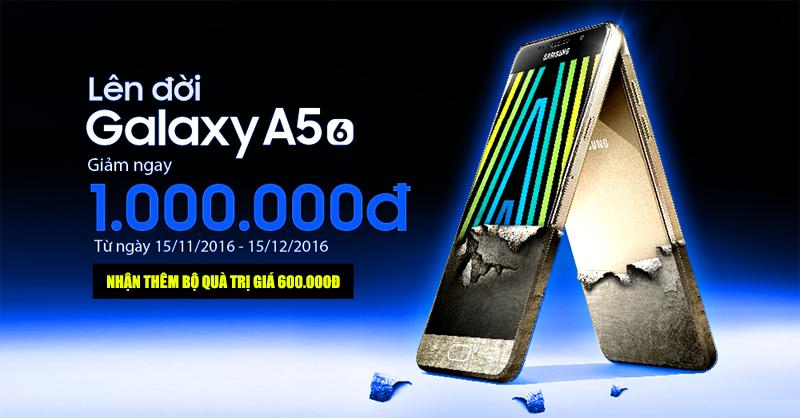 Ưu đãi đặc quyền Samsung Galaxy A510 tại Mediamart
