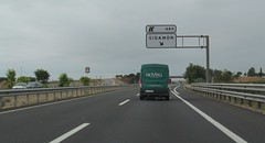 A-2-29 (European Roads) Tags: a2 trrega bellpuig mollerussa lleida catalunya espaa autova
