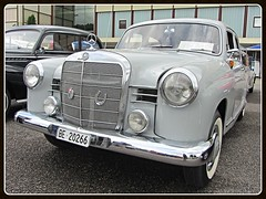 "Mercedes-Benz 180 C ""Ponton"", 1962 (v8dub) Tags: mercedes benz 180 c ponton 1962 schweiz suisse switzerland german pkw voiture car wagen worldcars auto automobile automotive old oldtimer oldcar klassik classic collector"