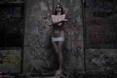 IMG_9824 (m.acqualeni) Tags: acqualeni manuel manu mlle lioncourt fille sexy urbex prisonnière attaché à un arbre avec des chaines bâillon bâillonné lingerie sous vêtement mouillé eau gothic gothique goth datk noir hurt souffrance sm bondage sado maso masque mask