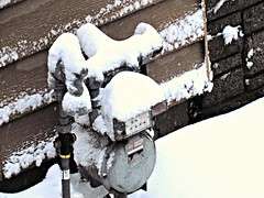 First snowfall seen from South window 2 (~nevikk~) Tags: snow windowshot firstsnowfall kevinkelly neighbors