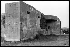 Bunker (DavidB1977) Tags: argentique france nb bw film bretagne blockhaus wwii bunker nikon f4