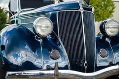 '36 Phaeton (GmanViz) Tags: gmanviz color car automobile detail nikon d7000 headlights chrome grille bumper 1936 ford phaeton