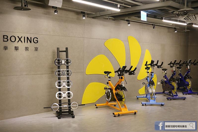 台北松山南京復興站健身房  MUZICYCLE 飛輪拳擊課程015