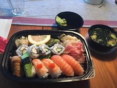 Lunch 17/11 (Atomeyes) Tags: mat sushi fisk ris miso soppa vatten gusakuken gus