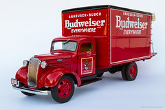 1937 Budweiser Delivery Truck (Ken Hendricks and Larry Patchett) Tags: danburymint 1937 chevrolet budweiser delivery truck 124scale diecast model