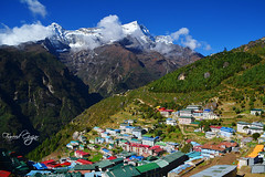 Namche Bazar (Fareed Gujjar - Next Mount Everest April 14) Tags: namche bazar everest base camp ebc nepal thamel pakistan the trekkerz th