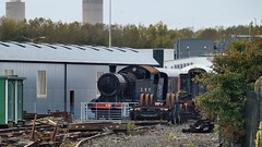 Cannibalization sector, Didcot Railway Centre museum and preservation site, Oxfordshire, England. (edk7) Tags: nikond3200 nikonnikkor18200mm13556gedifafsvrdx edk7 2016 uk england oxfordshire didcot greatwesternsociety didcotrailwaycentre greatwesternrailway gwr railwaymuseum preservationengineeringsite gwr5205class gwr5227 280t shorthaul coalminetoportsteamlocomotive gwrswindonworks1924 train scrap wreck mechanical machine vintage classic rust notrestored cannibalization railway railroad rwy rr track motivepower sparepart