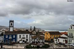Azorean Town (Mauro Hilrio) Tags: town city azores so miguel portugal urban gazebo outdoor center traditional ribeira grande