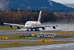 A6-EEI Emirates Airbus A380-861 (Osdu) Tags: zurich kloten zrh lszh spotting planespotting avia aviation aircraft airplane avion aeroplano aereo  vliegtuig aviao uak  samolot flugzeug luftfahrzeug flygplan lentokone aeroplane  letoun fastvingefly avin lennuk  flugvl aroplanum    emirates emiratesairlines airbus a380