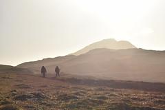 Above Gannett Lake. Adak, Alaska (Paxson Woelber) Tags: adak adakisland alaska adaklandscape landscape alaskalandscape hikers hike hiking