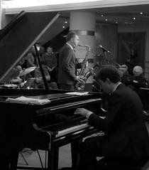 Simon Spillett Quartet. Jazzlines. 2nd Dec '16. Symphony Hall. (Imagine Bill) Tags: simonspillettquartet jazzlines symphonyhallbirmingham symphonyhall davidferris simonspillett