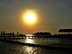 It's already afternoon...it's time to go home... (yusuf ks) Tags: itsalreadyafternoon itstimetogohome timing goodtiming greattiming perfecttiming silhouette sunset sun thousandislands pulauseribu kepulauanseribu gatetoanisland bira biraisland sea sky clouds landscape beach island laut langit awan pulau indonesia