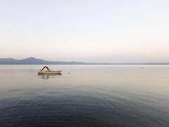 Lago di Bracciano (quandonehovoglia) Tags: lazio italia italy lago lake nature natura water blue blu minimal