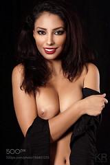 Hanaa (southjerseseyhvac) Tags: girl beauty beautiful studio female pretty model nude sexy erotic naked sensual topless erotik teilakt