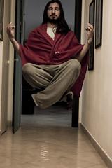 oggi mi sono svegliato blasfemo (Luca Ciaponi) Tags: blasfemia levitazione volare soar blasphemy fun