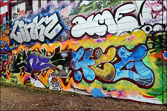 Linkz / Dime / Enta / 4ce (Alex Ellison) Tags: linkz dime uga lwi enta 4ce vsop trellicktower halloffame westlondon hof urban graffiti graff boobs