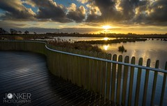 Follow the lines  (melvinjonker) Tags: path water contrast sonya7ii sony landscape netherlands holland colours mothernature natureperfection nature clouds sunset sun lines onlanden groningen