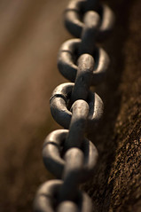 Chain.. (ScottishMaryMoo) Tags: chain link depthoffield harbour burghead moray highlands scotland