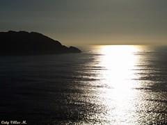 Las Cíes desde O Facho (Caty V. mazarias antoranz) Tags: españa spain galicia cielos atardeceres pontevedra evenings anocheceres islascíes porlanoche porlatarde ofacho