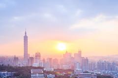 (Yaoo Sheng Ming) Tags: sunset taiwan 101  taipei