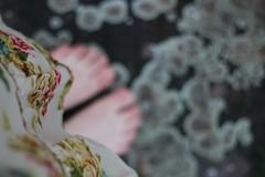 barefoot (fraeuleinfamos) Tags: summer feet floral sommer bare blumen barefoot barefeet lookingdown summerdress barefooted sommerkleid fromwhereistand fse barfus