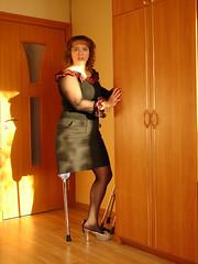 amp-0087 (vsmrn) Tags: crutches nylon amputee onelegged pegleg