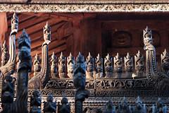 Shwenandaw Monastery (10b travelling / Carsten ten Brink) Tags: golden asia asien southeastasia burma monastery myanmar asie southeast birma mandalay indochine birmanie 2011 shwenandaw ビルマ goldenmonastery iptcbasic