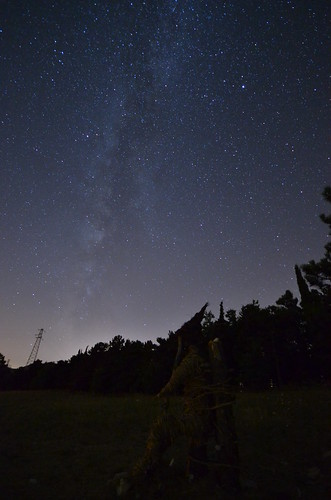 Woodman and the Milky Way