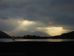 Loch Leven (Vijay_ktyely) Tags: sunset scotland glencoe loch leven