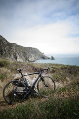 rocky point (derekshred) Tags: california ranch point sony marin rocky slide super highway1 cannondale six photographing rx100 rideyourroadbikeoffroad