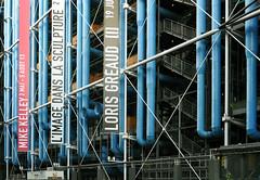 Centre Georges Pompidou / Renzo Piano - Richard Rogers (Burin YILDIRIM) Tags: travel paris france building art museum architecture construction europe steel centre pipes pipe pompidou renzopiano georges modernarchitecture richardrogers