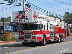 Fairfield Fire Department (Engine 907) Tags: county new tower fire firetruck lance jersey pierce ladder essex department fairfield quint