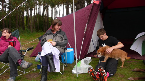 Camping at Dower House in Norfolk